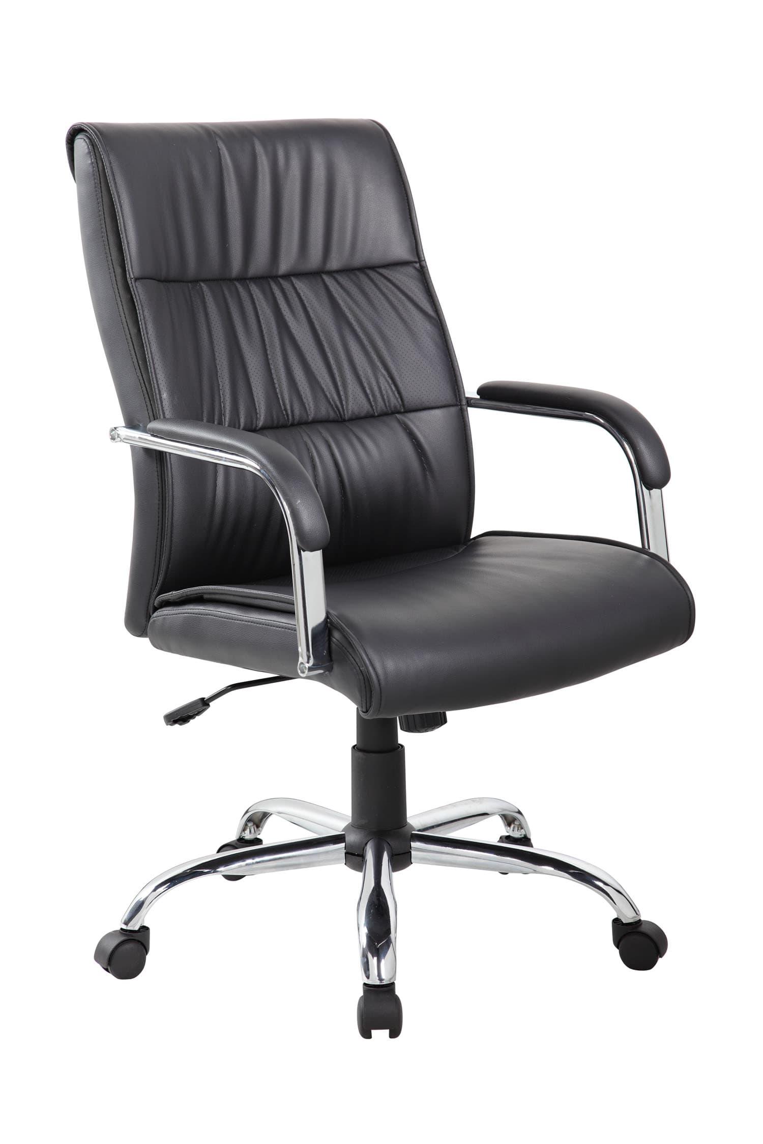 Кресло для руководителя Riva Chair 9249-1 Черный цвет, эко кожа
