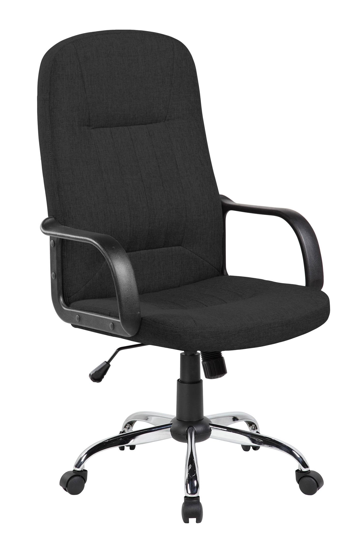 Кресло для руководителя Riva Chair 9309-1J Черный цвет, ткань