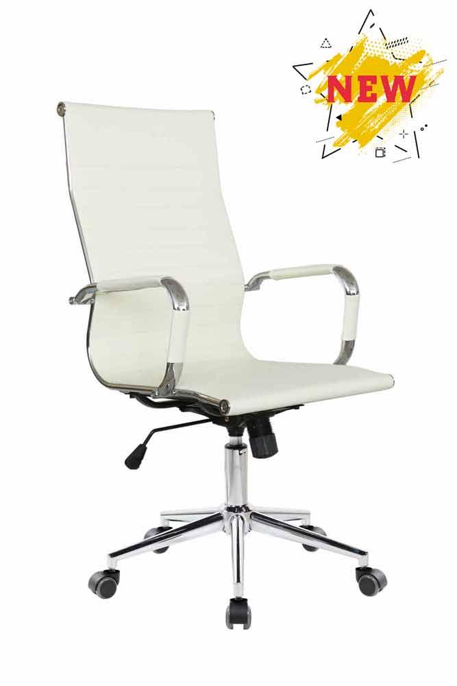 Кресло для руководителя Riva Chair 6002-1 S Бежевый цвет, эко кожа
