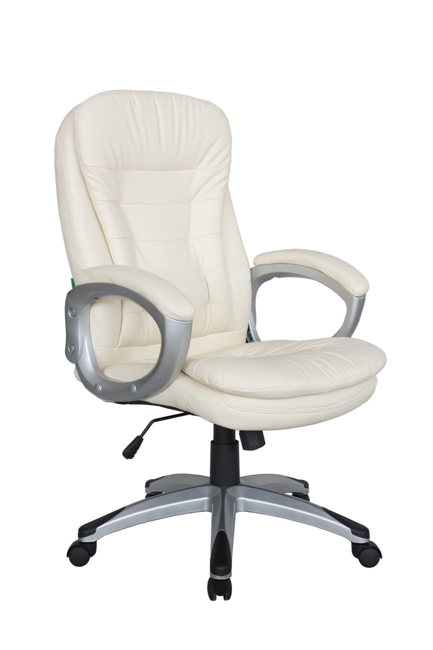 Кресло для руководителя Riva Chair 9110 Бежевый цвет, эко кожа